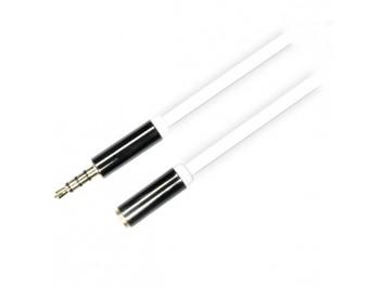 Ljudkabel AUD-Series 3.5mm 4-Pin-kontakter rak hane - rak hona