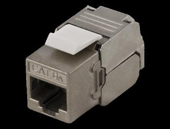 Keystone RJ45-kontakt Modular Cat6a FTP Tool-Free