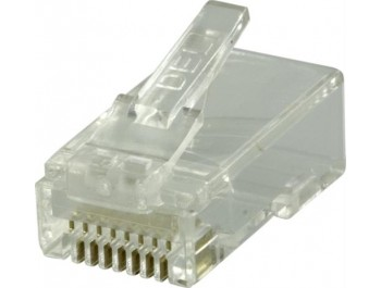 Modularkontakt Cat6/RJ45 UTP Patch med loadbar