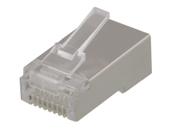 Modularkontakt Cat6/RJ45 STP  Patch med loadbar