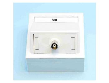 Vägguttag med SDI, HD-SDI och 3G-SDI (BNC)