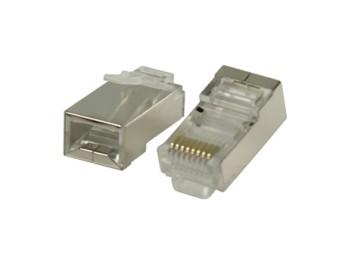 Modularkontakt Cat6/RJ45 STP Solid