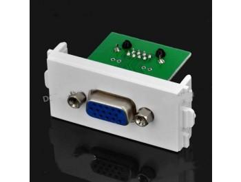 VGA-uttag till RJ45 signaladapter för modulpanel