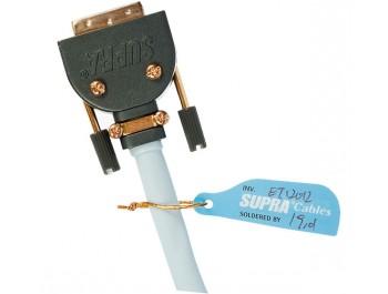 Supra Single-Link DVI-kabel DVI-D 18+1