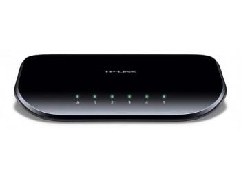 TP-link 5-Port 5-ports 10/100/1000Mbps Nätverksswitch