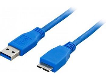 USB 3.0-kabel A - Micro B 0.5 m