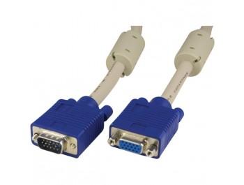 VGA-kabel hane - hona 15 m