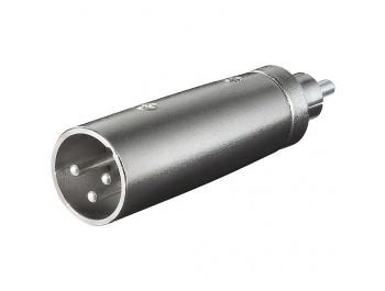 Adapter XLR-hane - RCA-hane