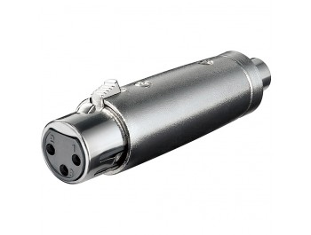 Adapter XLR-hona - RCA-hona