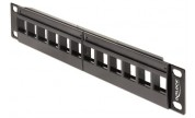 Keystone Patch Panel 12 portar DeLOCK 10""