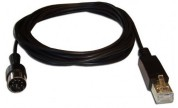 Powerlink-kabel hane => RJ45 hane 0,5m