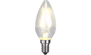 Led-Lampa C35 FILAMENT E14 250lm 2w 2700k