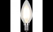 Led-Lampa C35 FILAMENT E14 470lm 4w 2700k