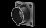 Deltaco väggfäste för Typ1 laddningskontakt