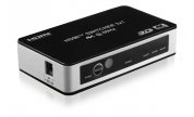 HDMI-switch med fjärrkontroll Ultra HD 3-port