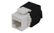 Keystone RJ45-kontakt Modular Cat6a UTP Tool-Free