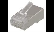 Modularkontakt Cat6a/RJ45 STP  Patch med loadbar