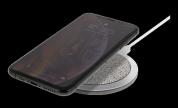 Trådlös snabbladdare för iPhone och Android, 10W, Qi-certifierad