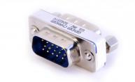 Adapter VGA hane - VGA hane - finns på kabelbutiken.com