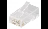 Modularkontakt Cat6a/RJ45 UTP Patch med loadbar