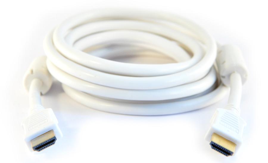 HDMI-kabel v1.3 - 10 m Vit