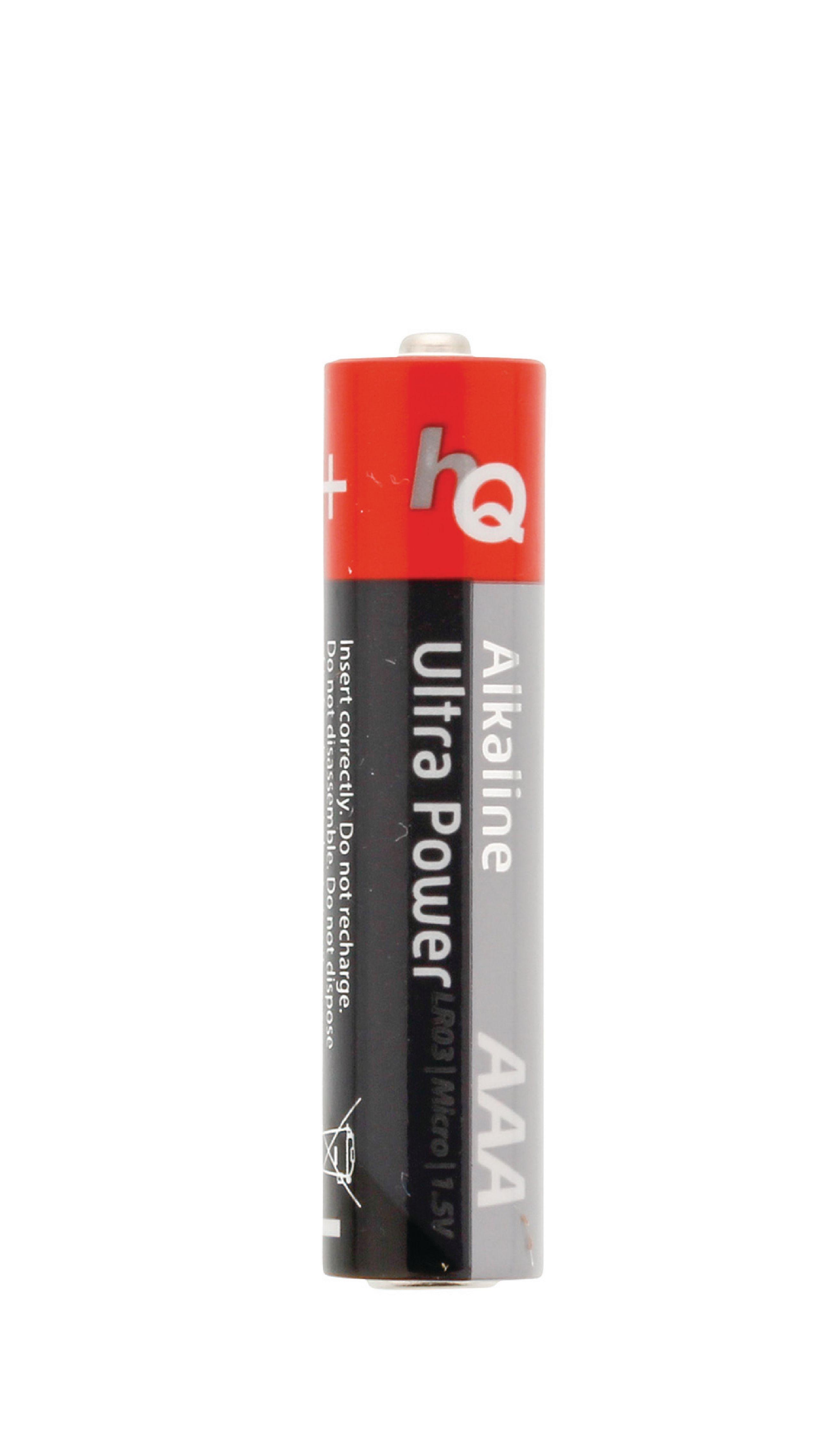 HQ Alkaliska Batterier AAA