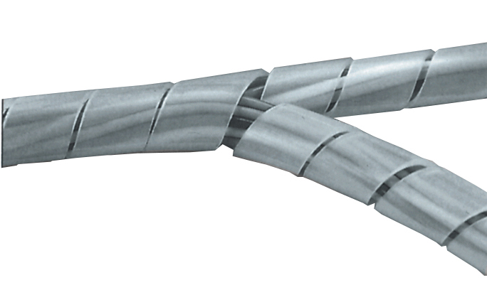 Kabelspiral transparent 12 - 70mm - metervara