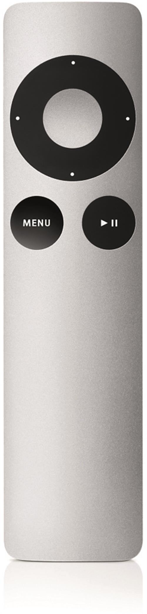 Apple Remote, fjärrkontroll till iPod/iPhone/Apple TV/Mac, silver, i kartong