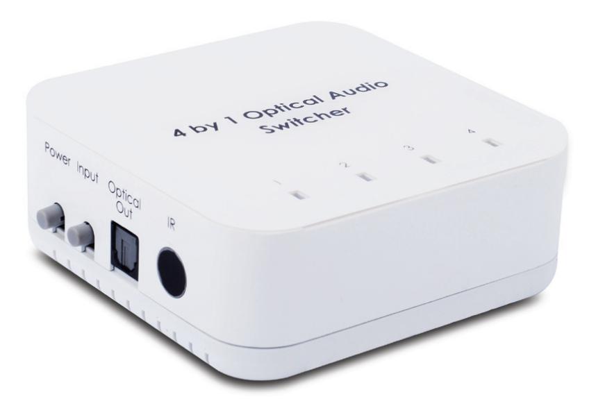 Digital optisk switch med fjärrkontroll