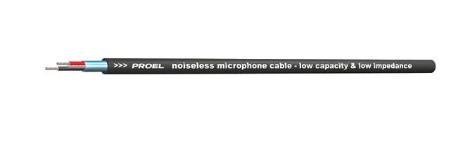 PROEL Mikrofonkabel tunn för installation - Metervara