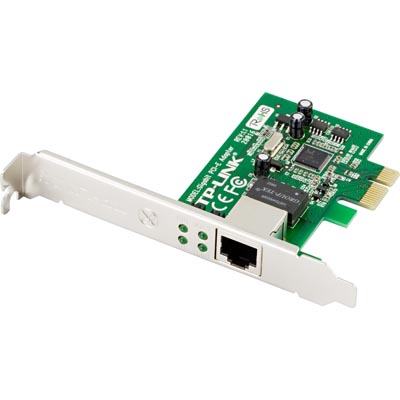 Nätverkskort PCI-express 10/100/1000 Mbps