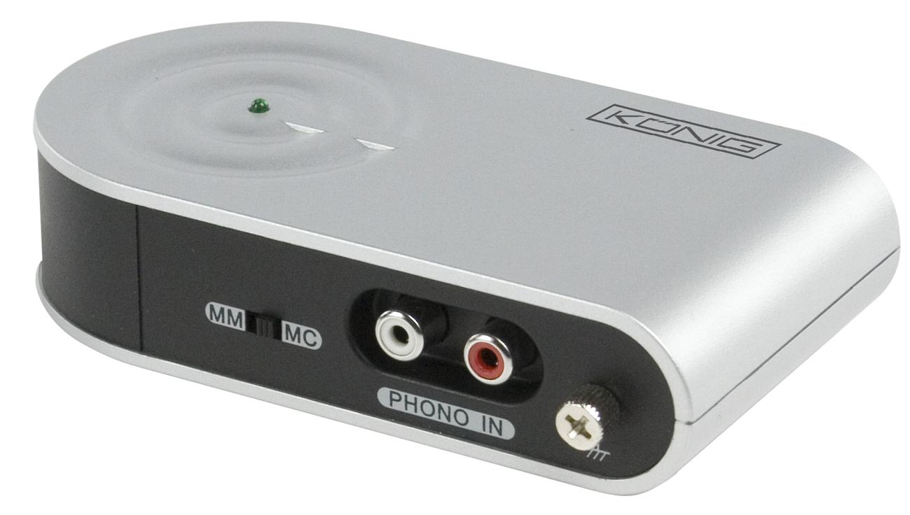 USB-interface för skivspelare mm