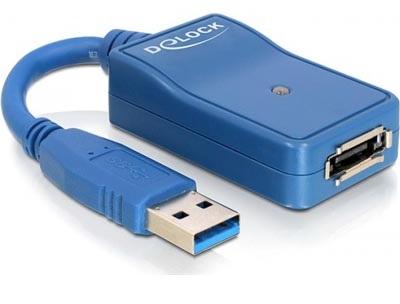 Adapter USB 3.0 till eSATA