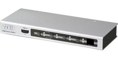 HDMI-växel / switch 4-portar - fjärrstyrd