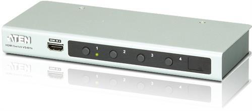 Aten UltraHD 4K HDMI-switch 4-port - fjärrkontroll